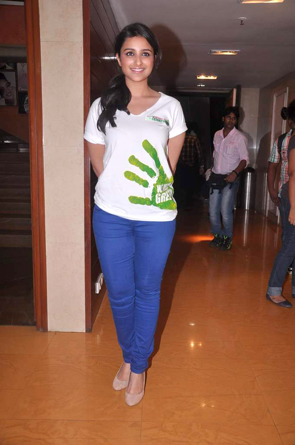 Parineeti chopra from the ndtv greenathon at yash raj studios 10