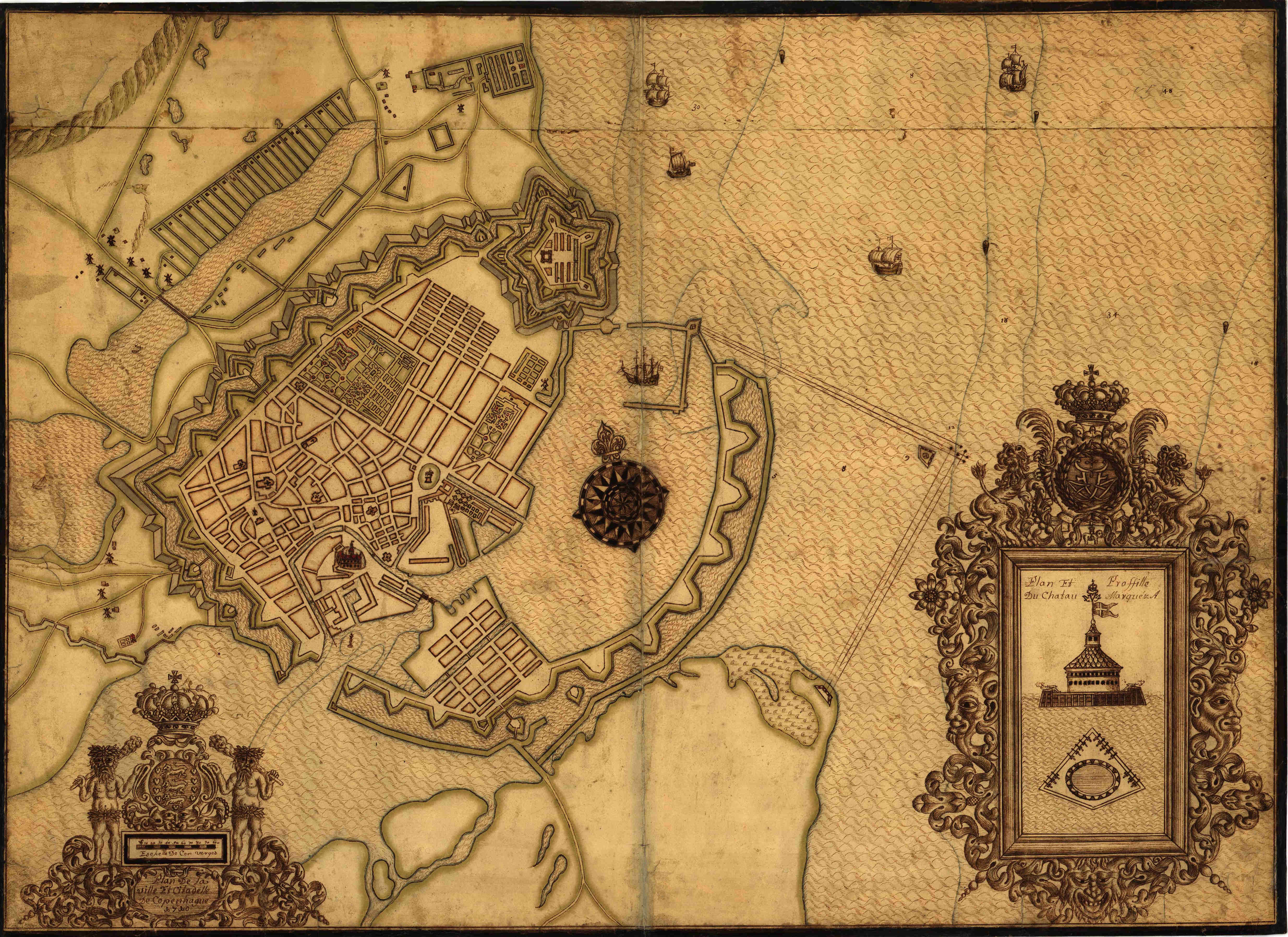 File:Plan af København 1710.jpg