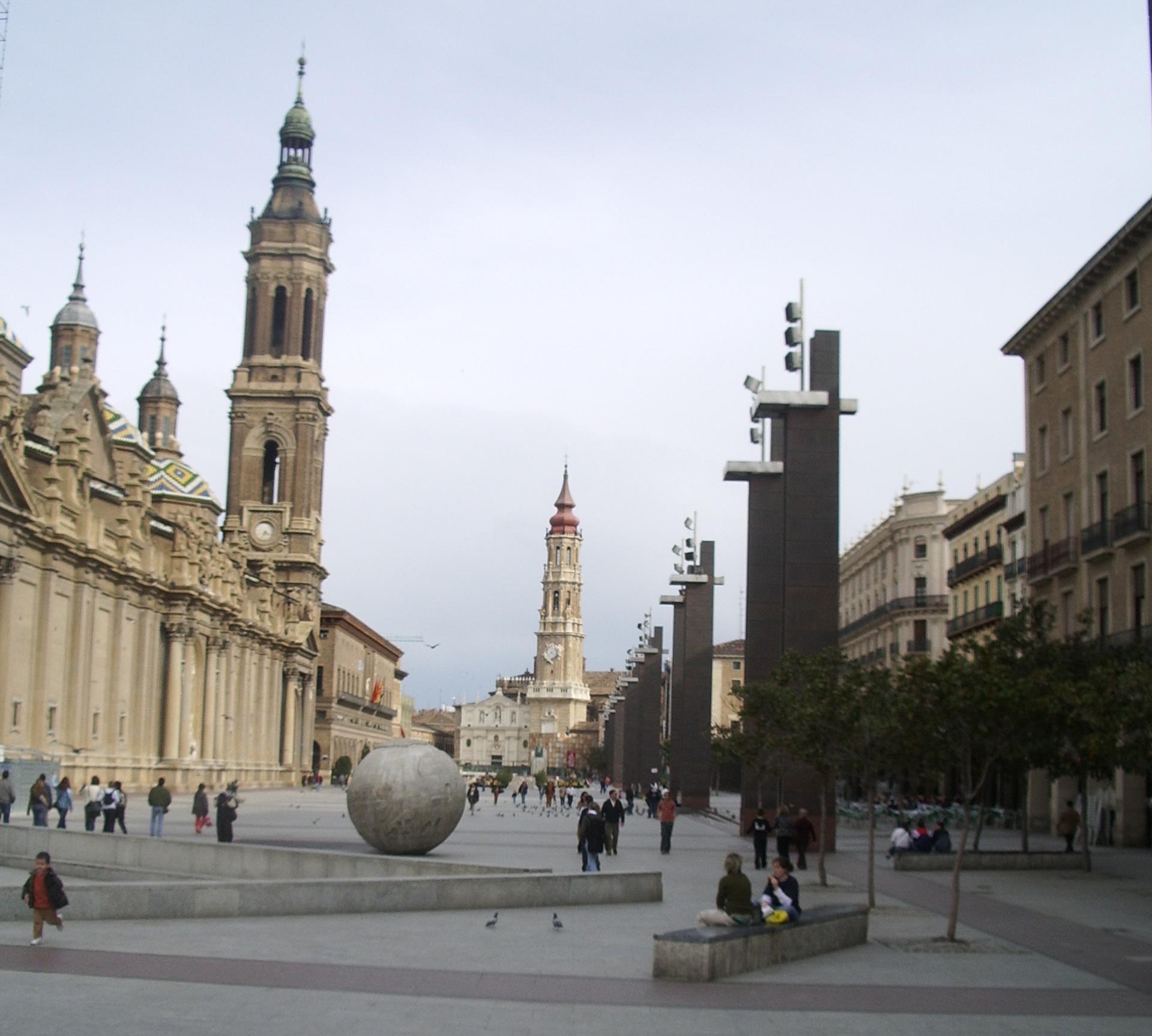 Plaza del pilar wikipedia la enciclopedia libre - Empresas de reformas en zaragoza ...