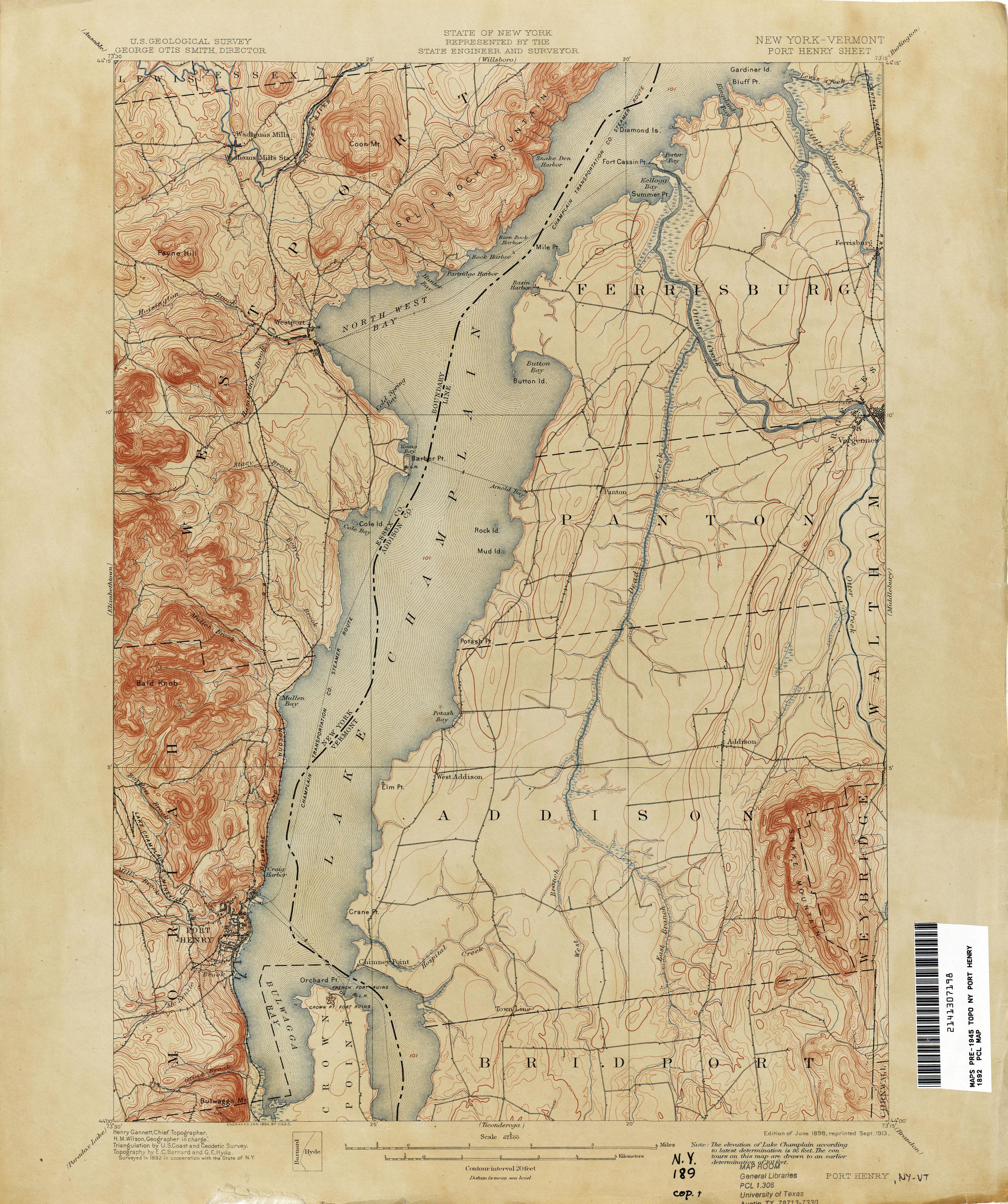 File:Port Henry New York USGS topo map 1892.jpg - Wikimedia Commons