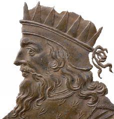Retrato de Meroveo / Fuente: Wikipedia