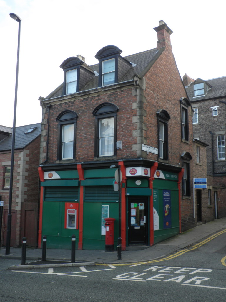 file post office on the corner of westgate road and