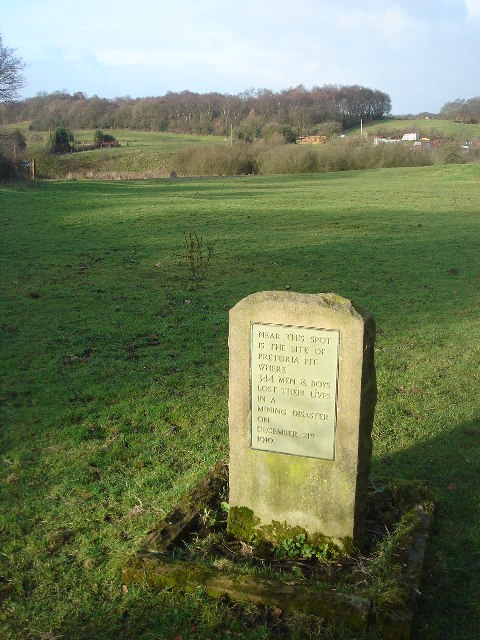Headstone in an empty field