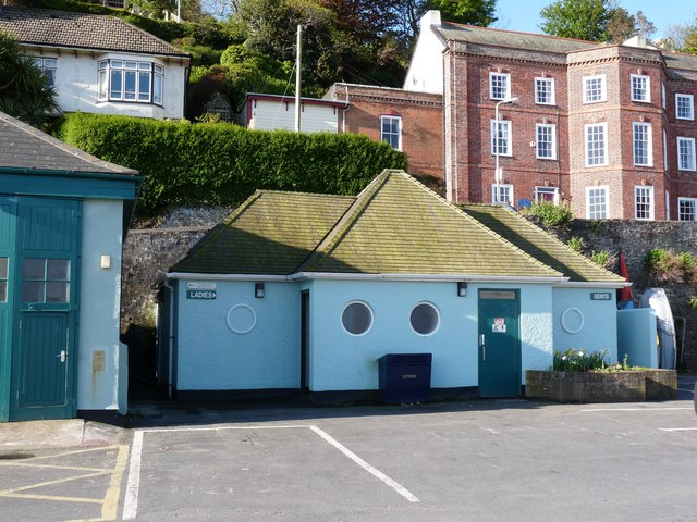 File:Public conveniences at the harbour, Ilfracombe - geograph.org.uk - 1302760.jpg
