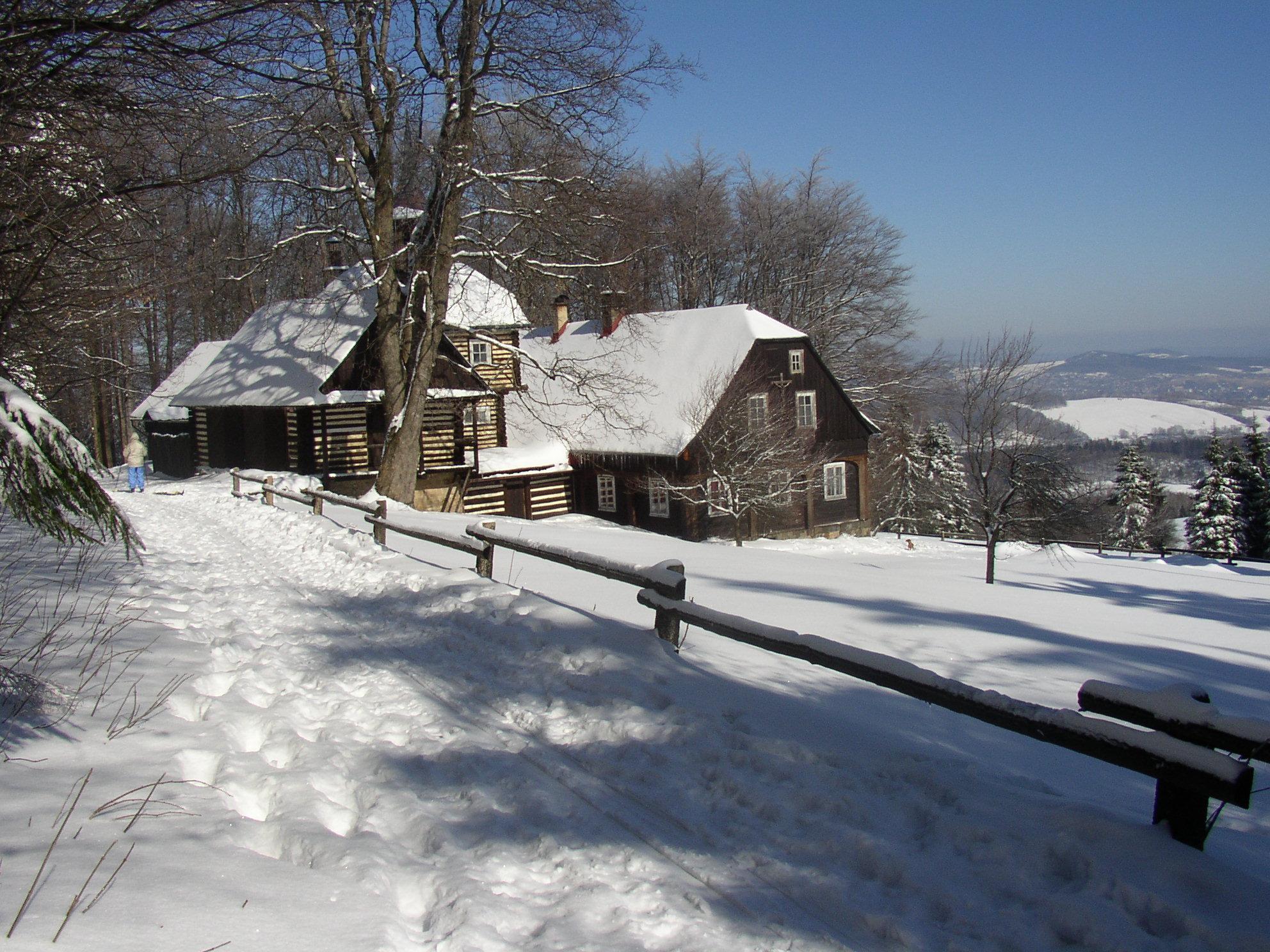 Ranch 7 D v zimě