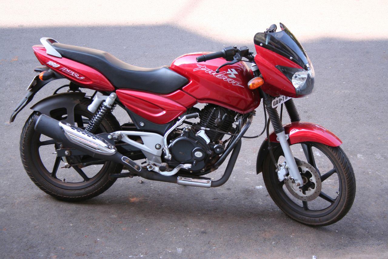 Modified Kawasaki Boxer Bike