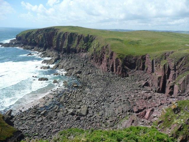 Red Berry Bay, Caldey Island (Ynys Bŷr) - geograph.org.uk - 958084