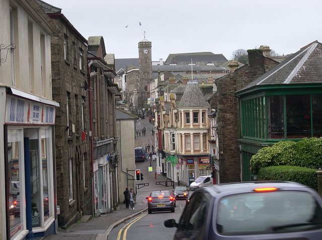 Redruth Town Centre from the West - geograph.org.uk - 97840