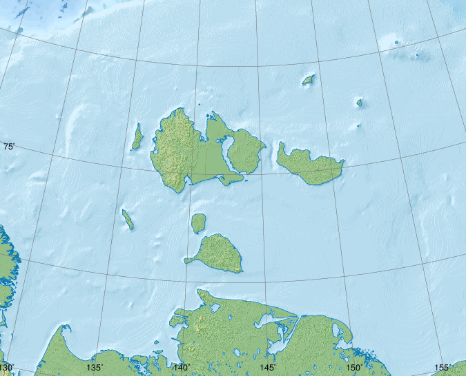 Файл:Relief Map of New Siberian Islands.png