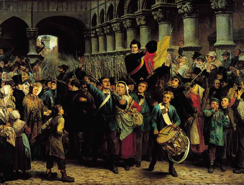 Histoire de la belgique de 1830 1914 wikip dia for Histoire des jardins wikipedia