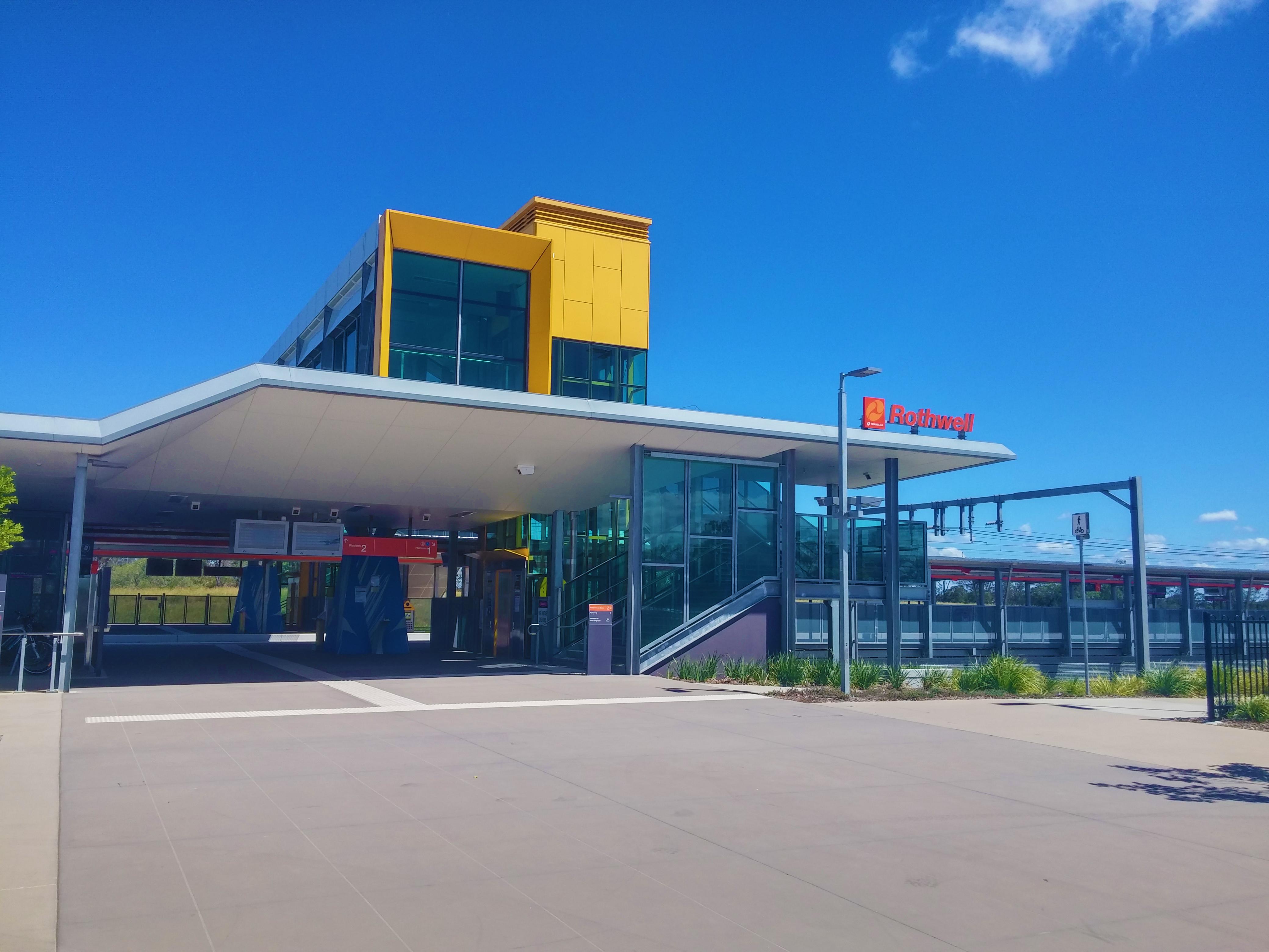 Rothwell railway station - Wikipedia