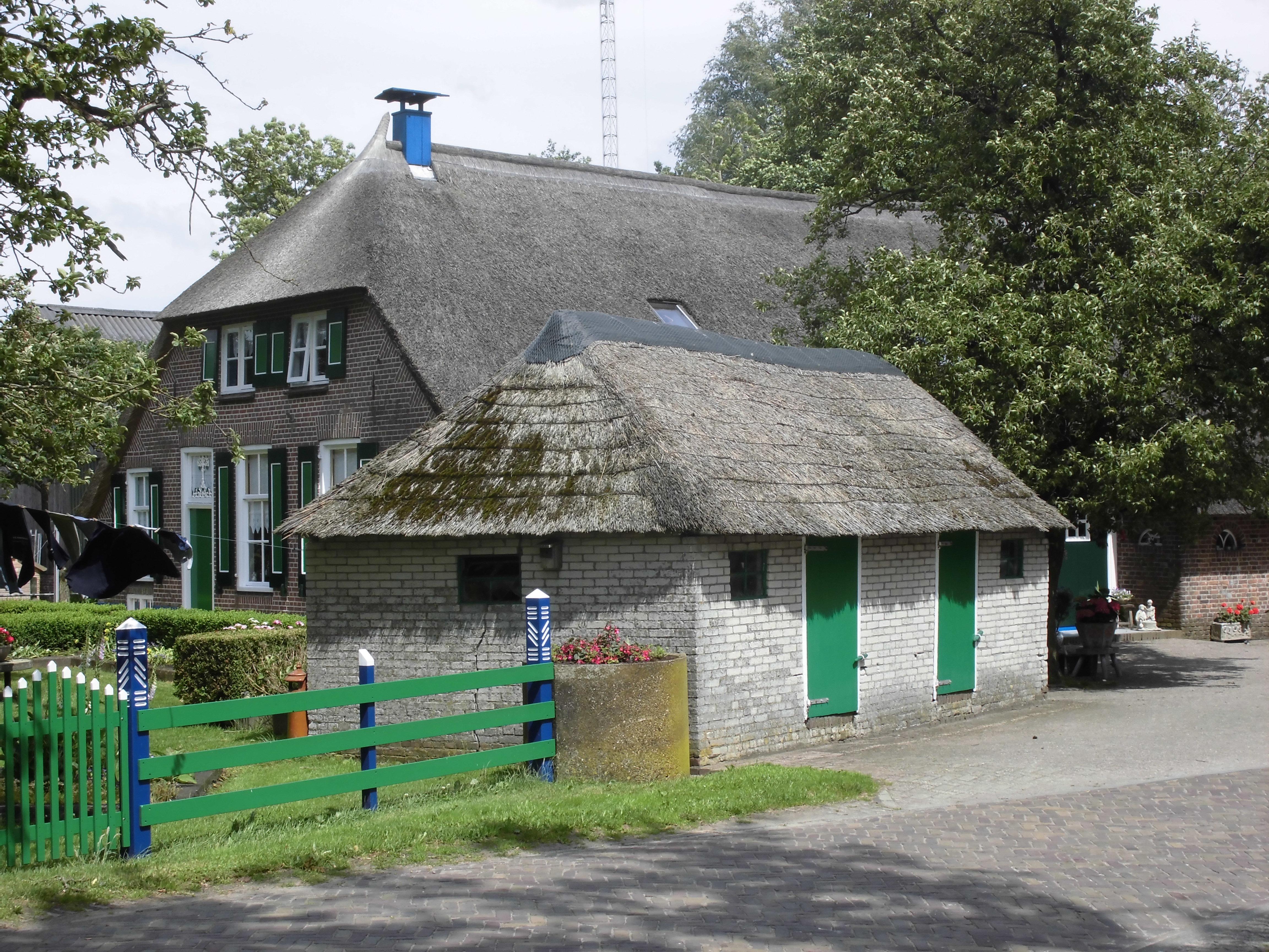 Gave boerderij van het staphorstse type interieur met for Boerderij interieur