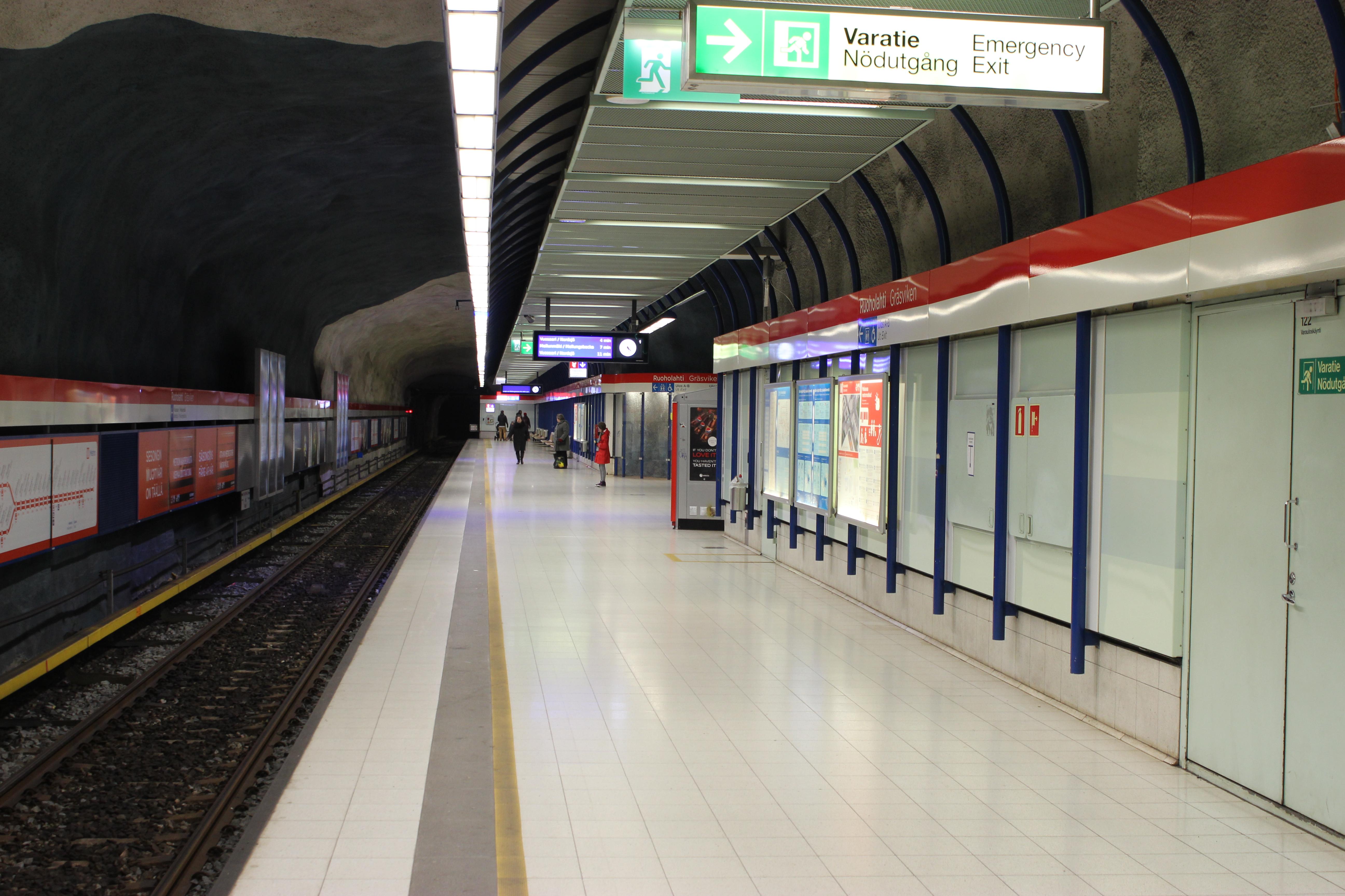Ruoholahden Metroasema