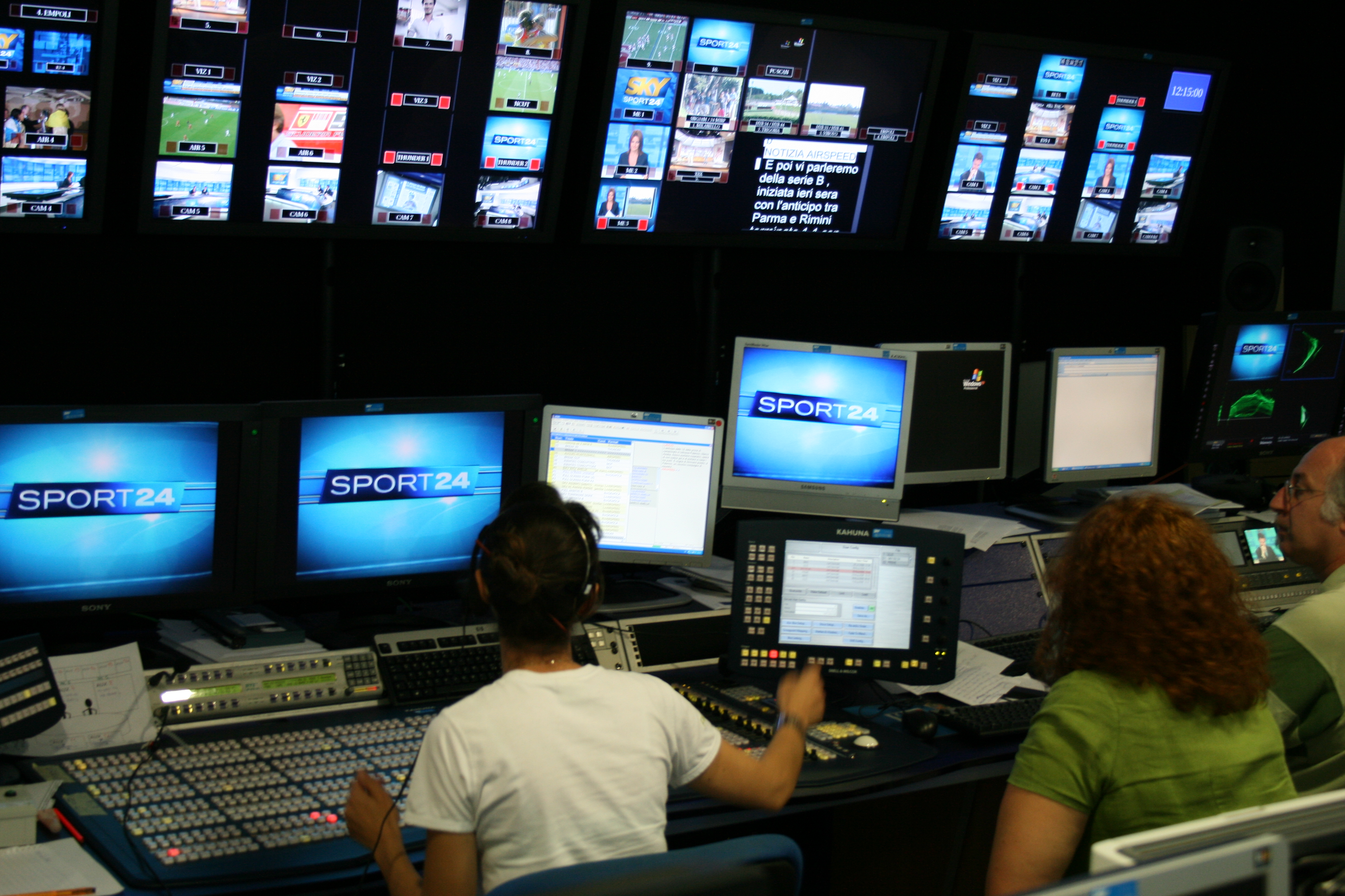 input and output desk in news channel