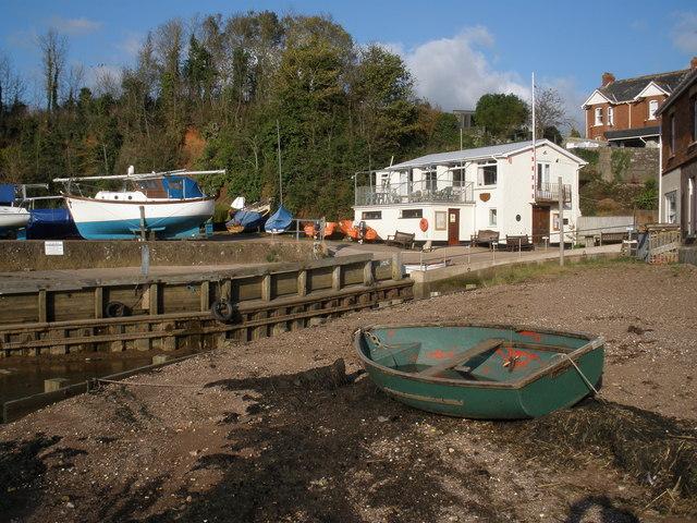 Sailing Club, Lympstone - geograph.org.uk - 1028961