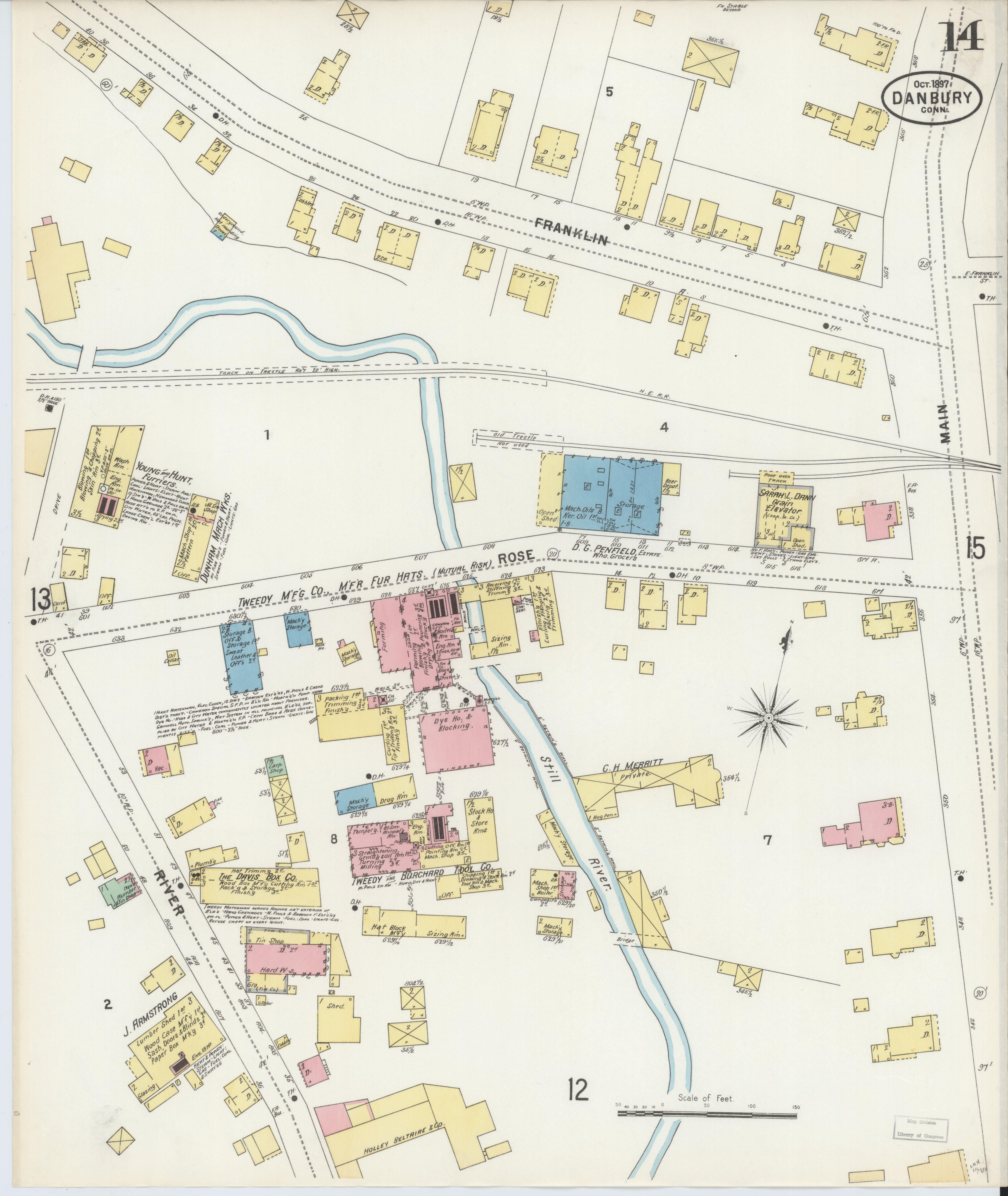 File Sanborn Fire Insurance Map From Danbury Fairfield County