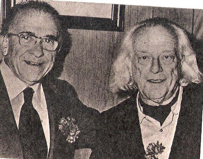 Santiago Carrillo (1915-2012) y Rafael Alberti (1902-1999).