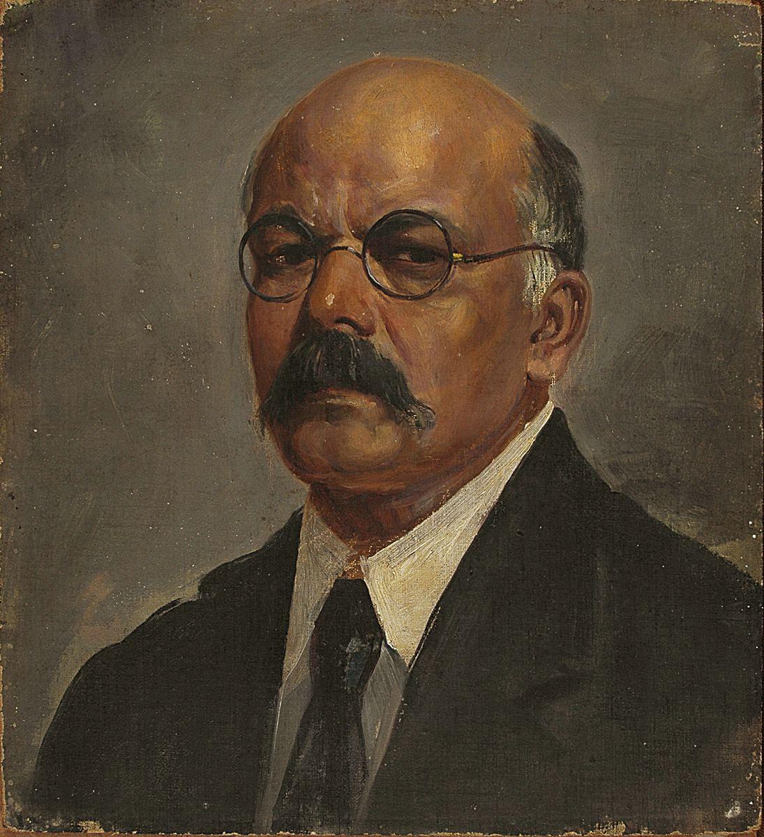 Description self portrait of painter