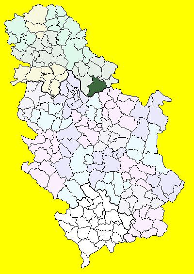 kovin mapa Ковин (община) — Википедия kovin mapa