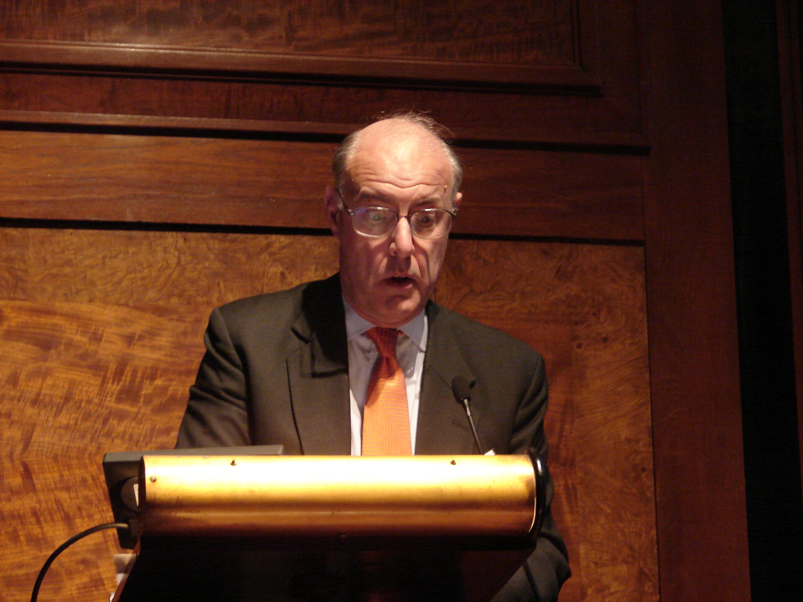 Cannadine in February 2010
