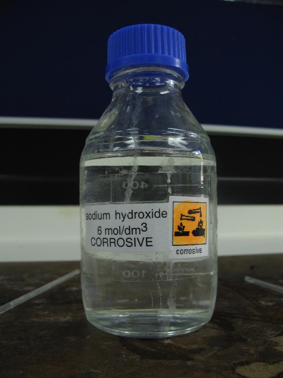 Гидроксид натрия как сделать в домашних условиях