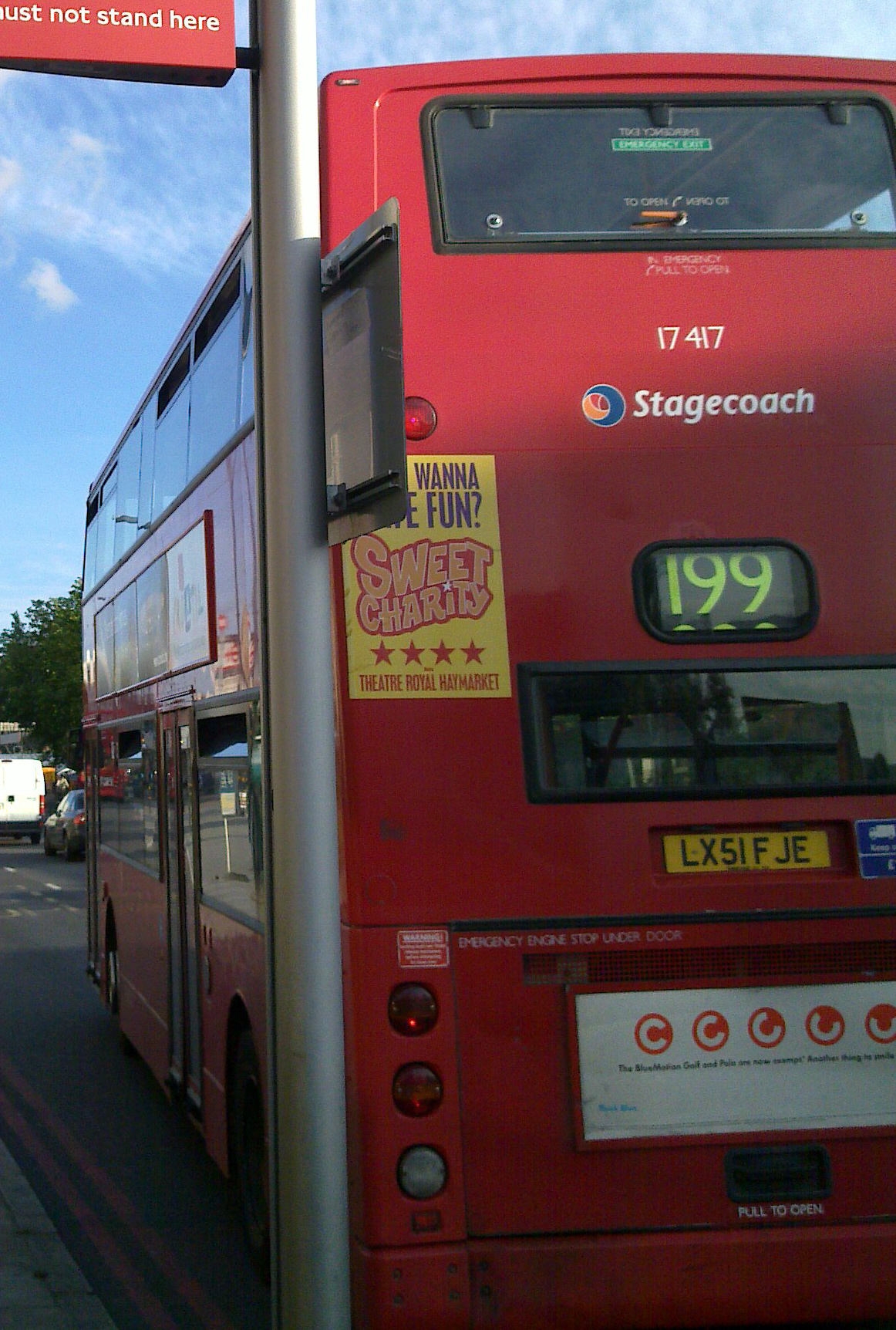 File Stagecoach East London Bus 17417 Lx51 Fje 2001