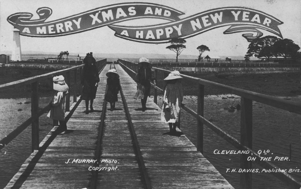 http://upload.wikimedia.org/wikipedia/commons/f/f0/StateLibQld_1_210570_Christmas_postcard_showing_Cleveland_pier,_ca._1908.jpg