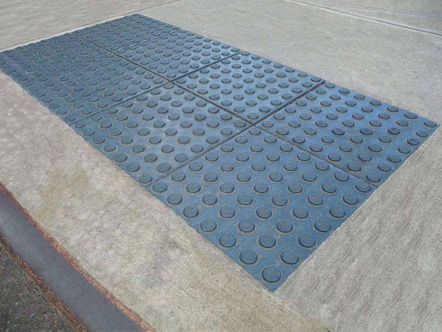 FileStepSafe ADA Compliant Detectable Warning Tile New Yorkjpg - Ada compliant floor tiles