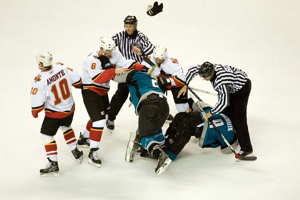 violence in ice hockey