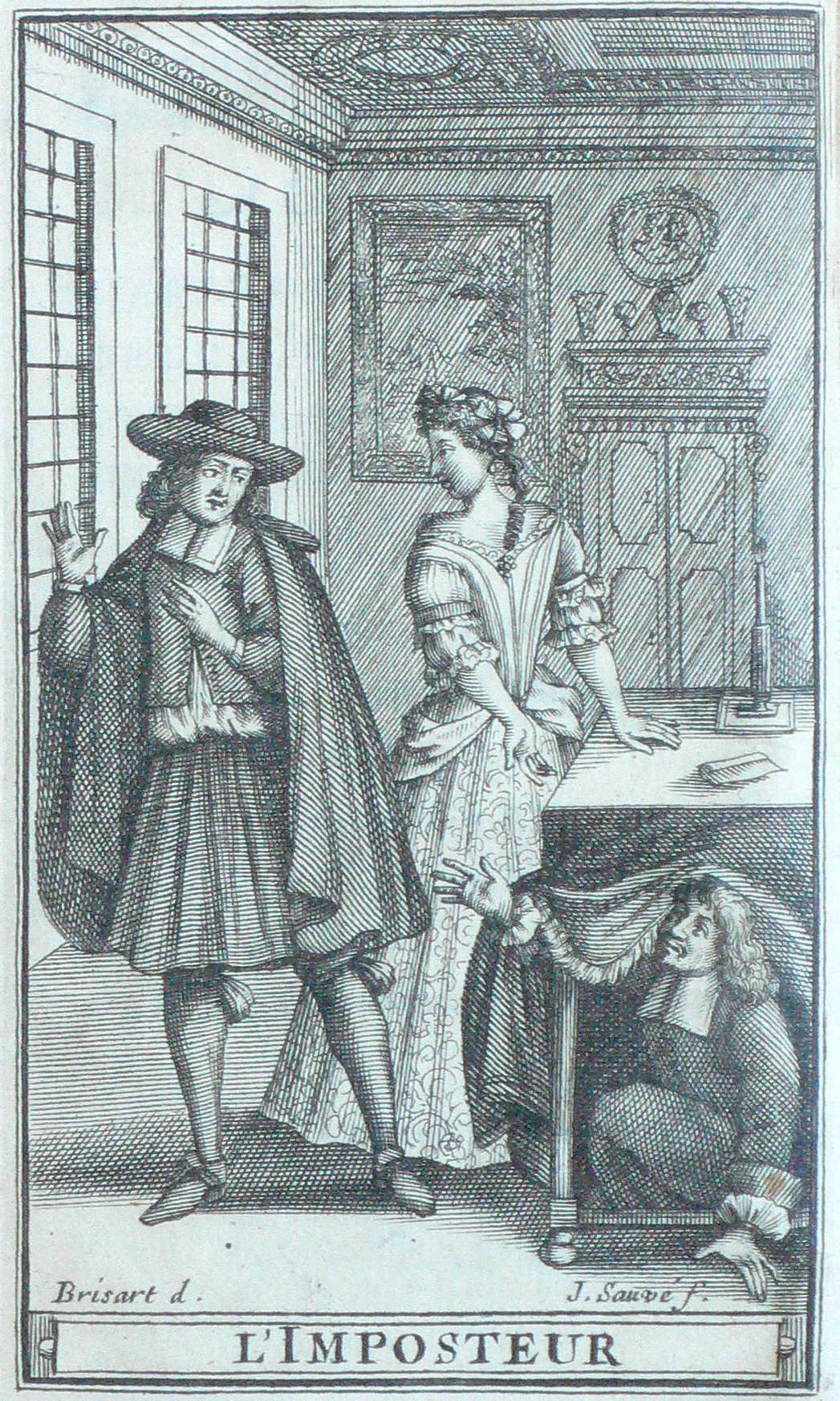 lie and story tartuffe Early life molière was born jean had stolen the story from another writer molière chose to answer his to perform tartuffe ou l.