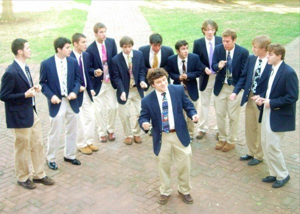 Picture of a band or musician: The Gentlemen Of The College