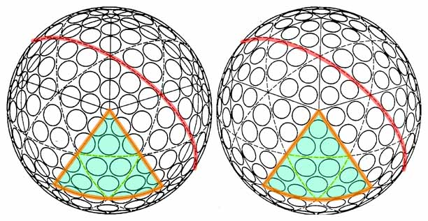 Two similar icosahedron golf ball designs.jpg
