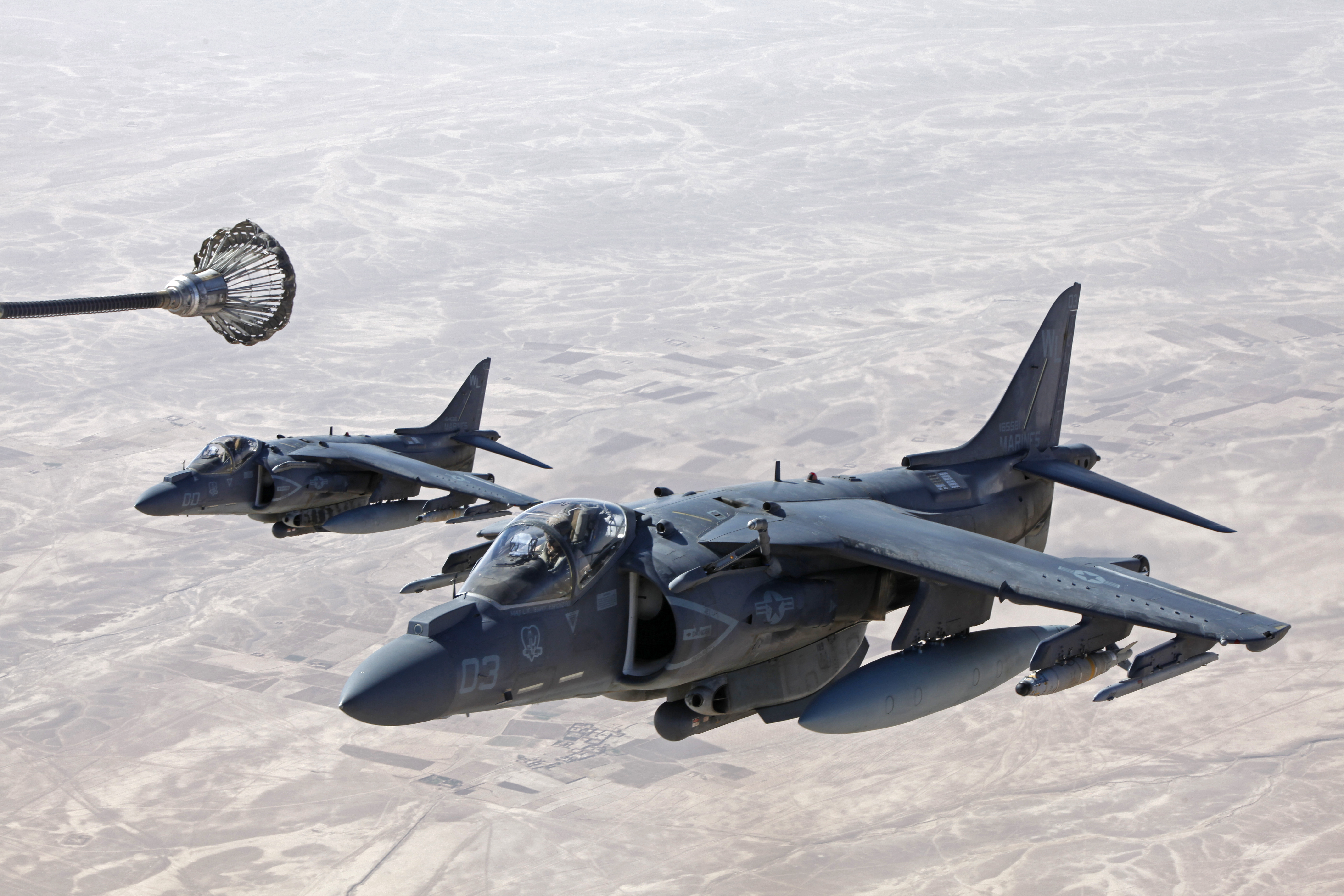 US MARINES AV-8B HARRIER II - SAM PUBLICATIONS AIR DATA 3 - ANDY EVANS