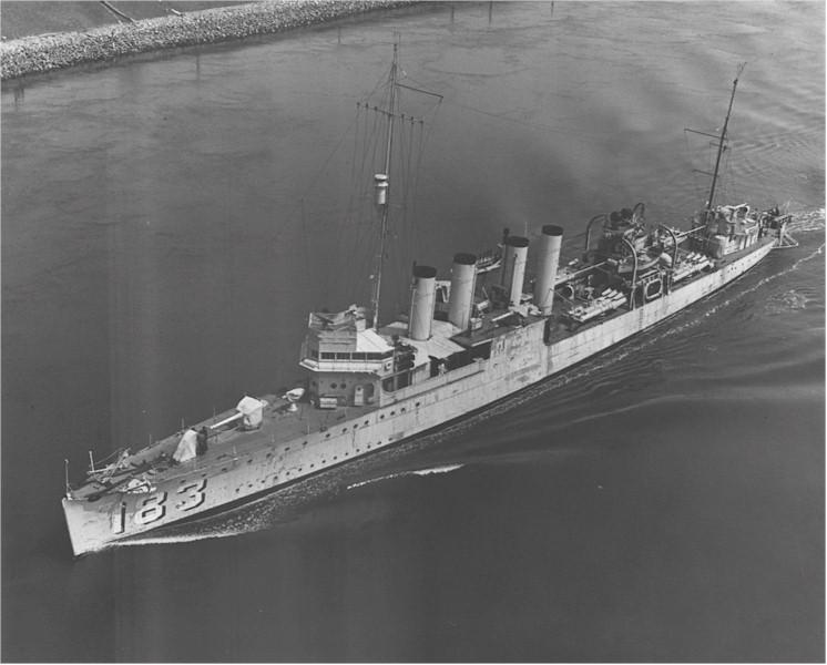 USS Haraden (DD-183)