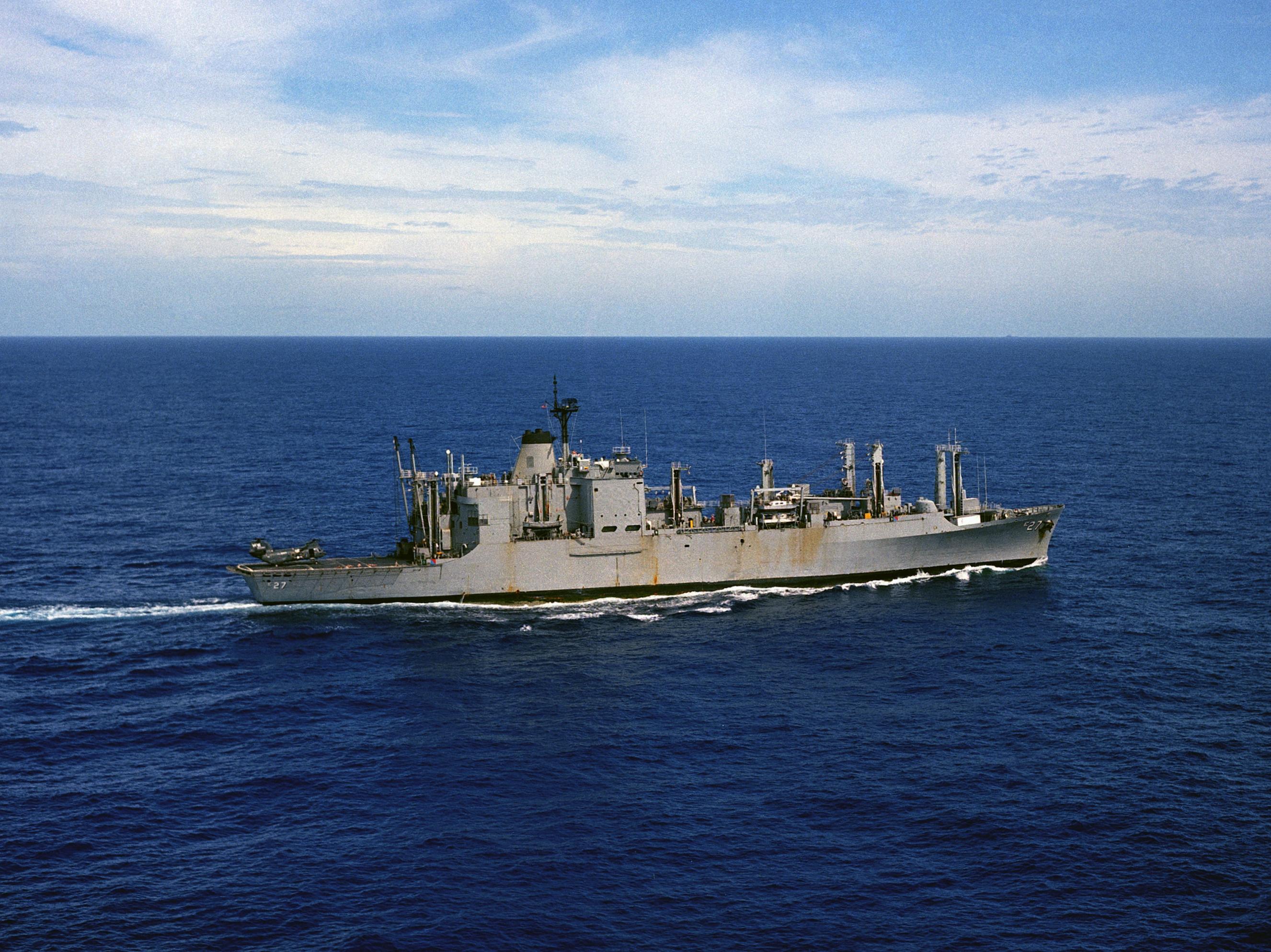 USS BUTTE  AE-27* AMMUNITION SHIP U.S NAVY W// ANCHOR* SHIRT