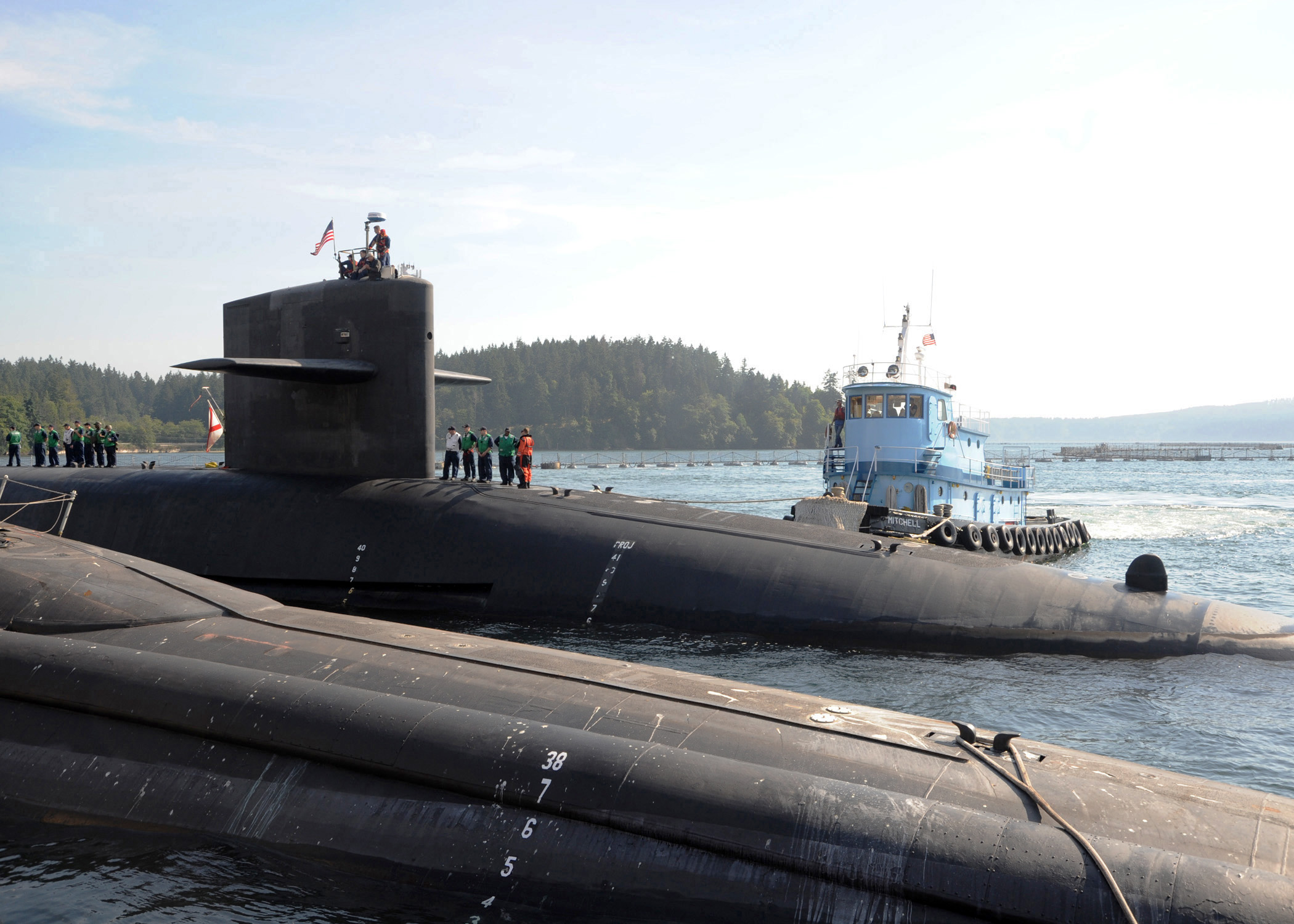 Ballistic Submarine Tour