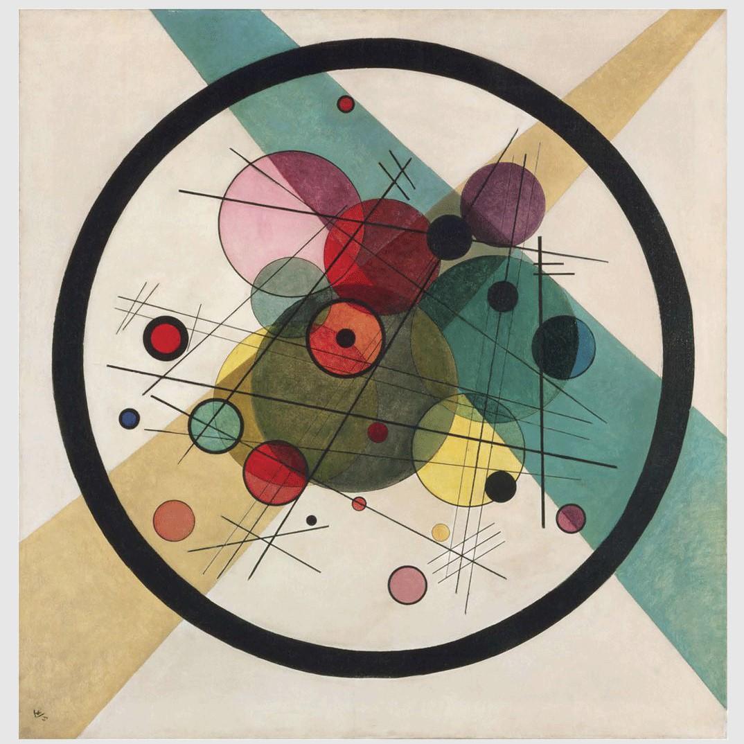 File:Vassily Kandinsky, 1923 - Circles in a Circle.jpg ...