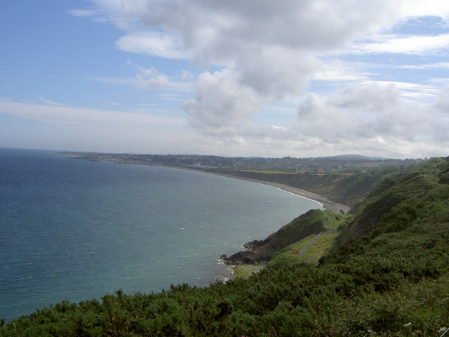 View of Greystones and Coast - geograph.org.uk - 917304