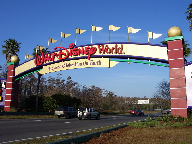 Walt Disney World Enter