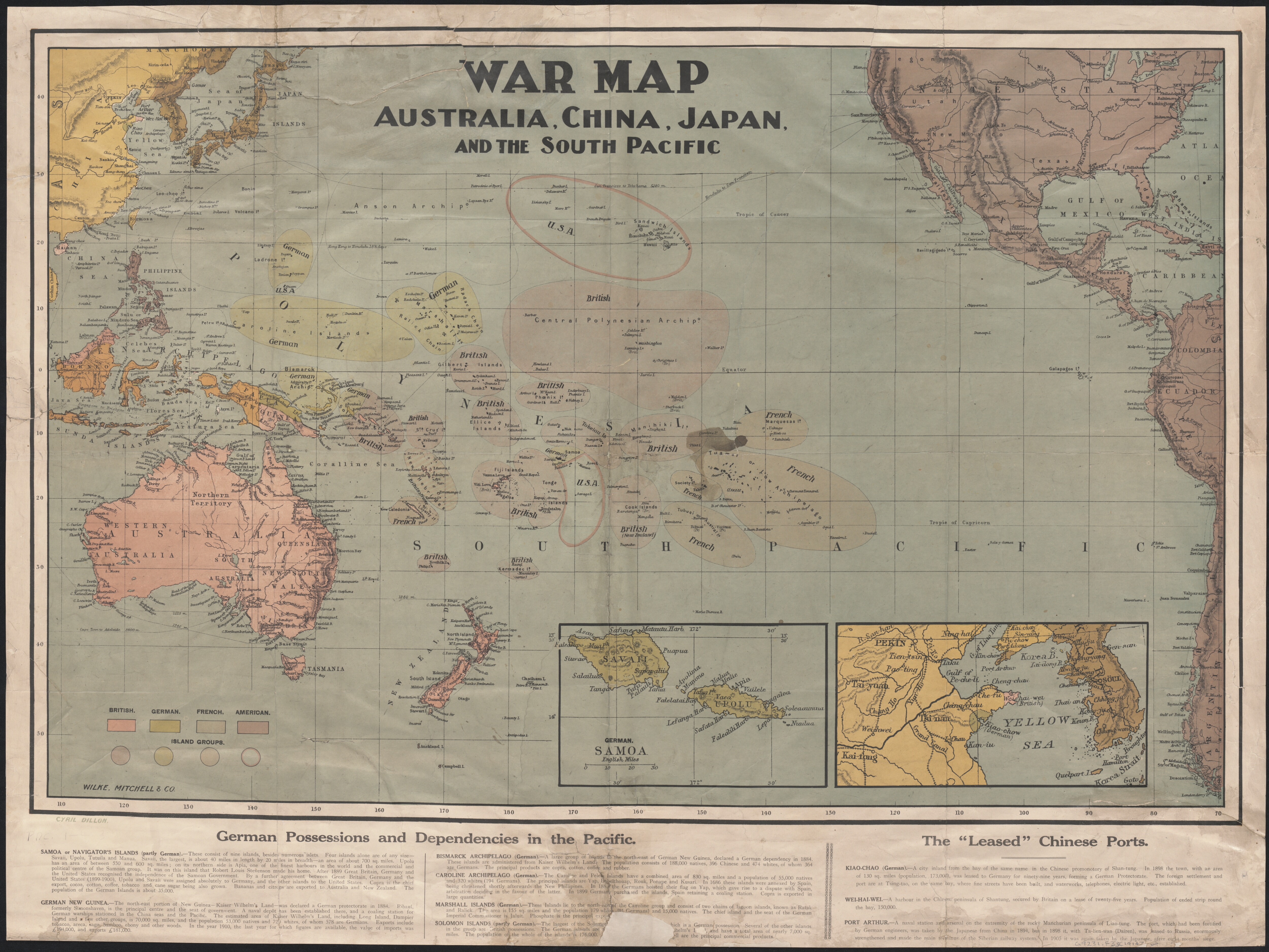 a history of world war ii in the south pacific