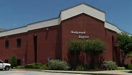 A picture of Wedgwood Baptist Church in Fort Worth, TX