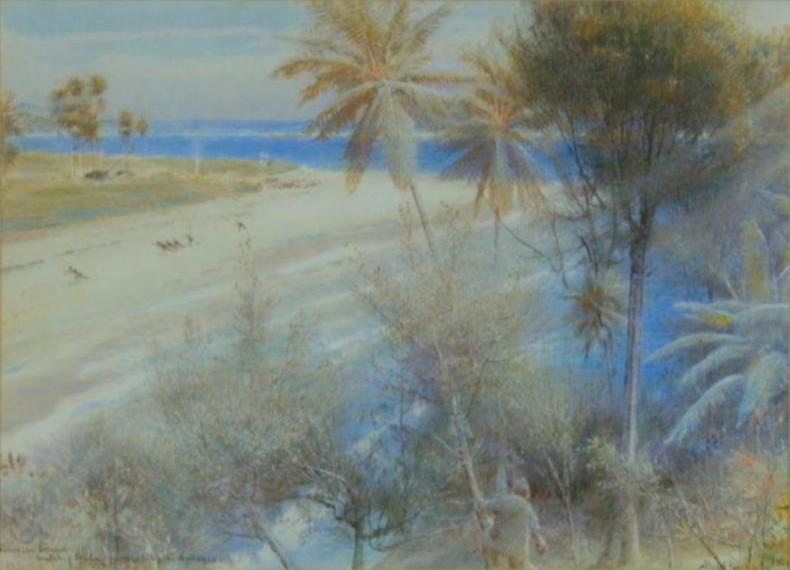'Robinson Crusoe' - Albert Goodwin - 1906.png