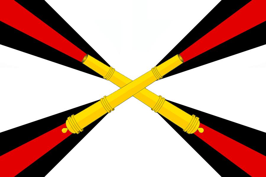 Картинки флаги артиллерии