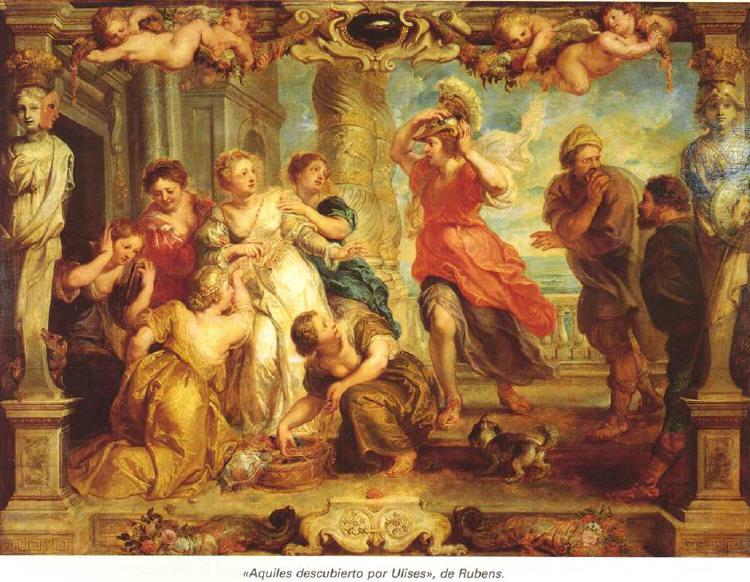 Aquiles descubierto por Ulises (Rubens)