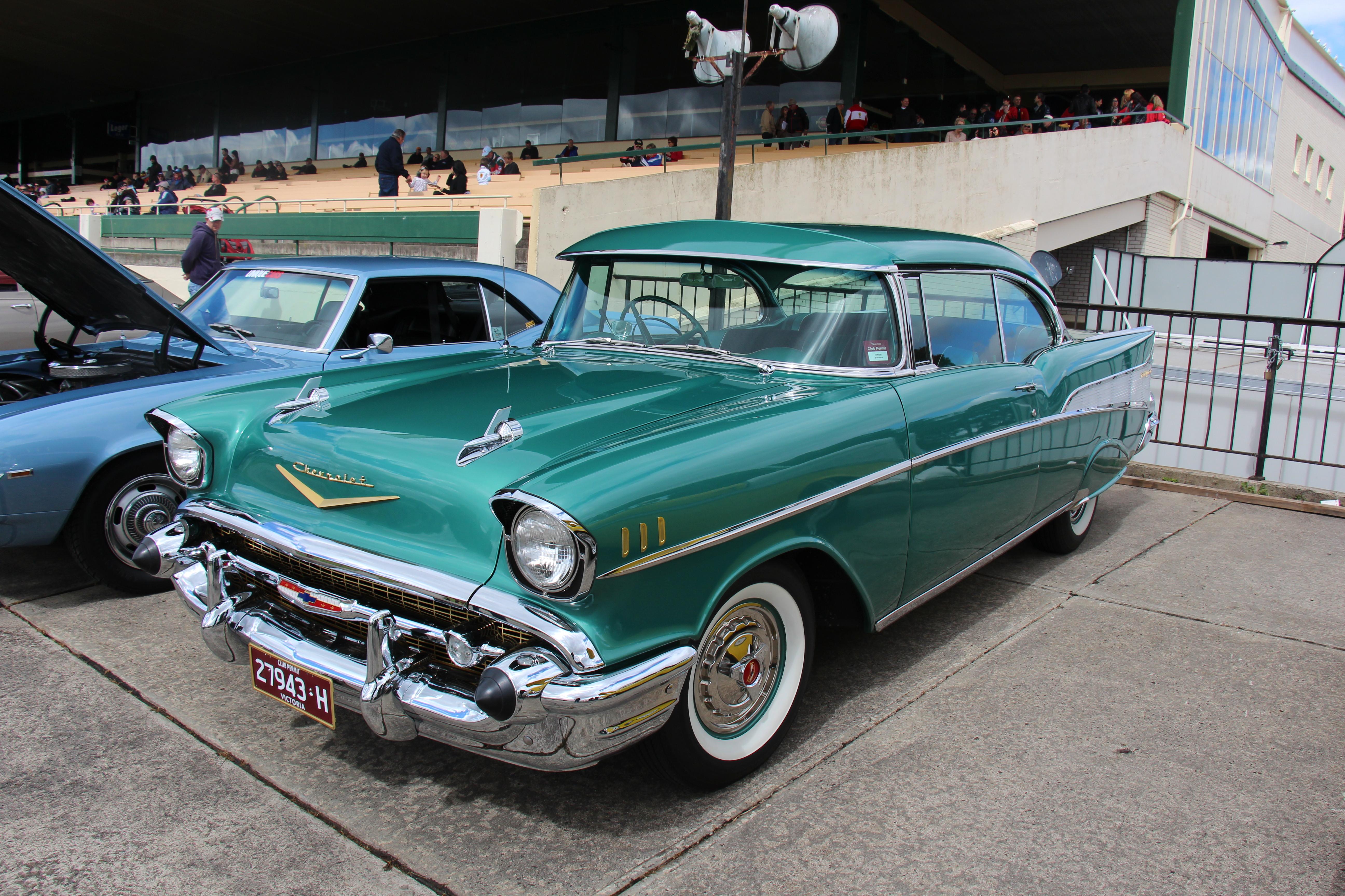 1957 Chevy 4 Door Save Our Oceans Bel Air
