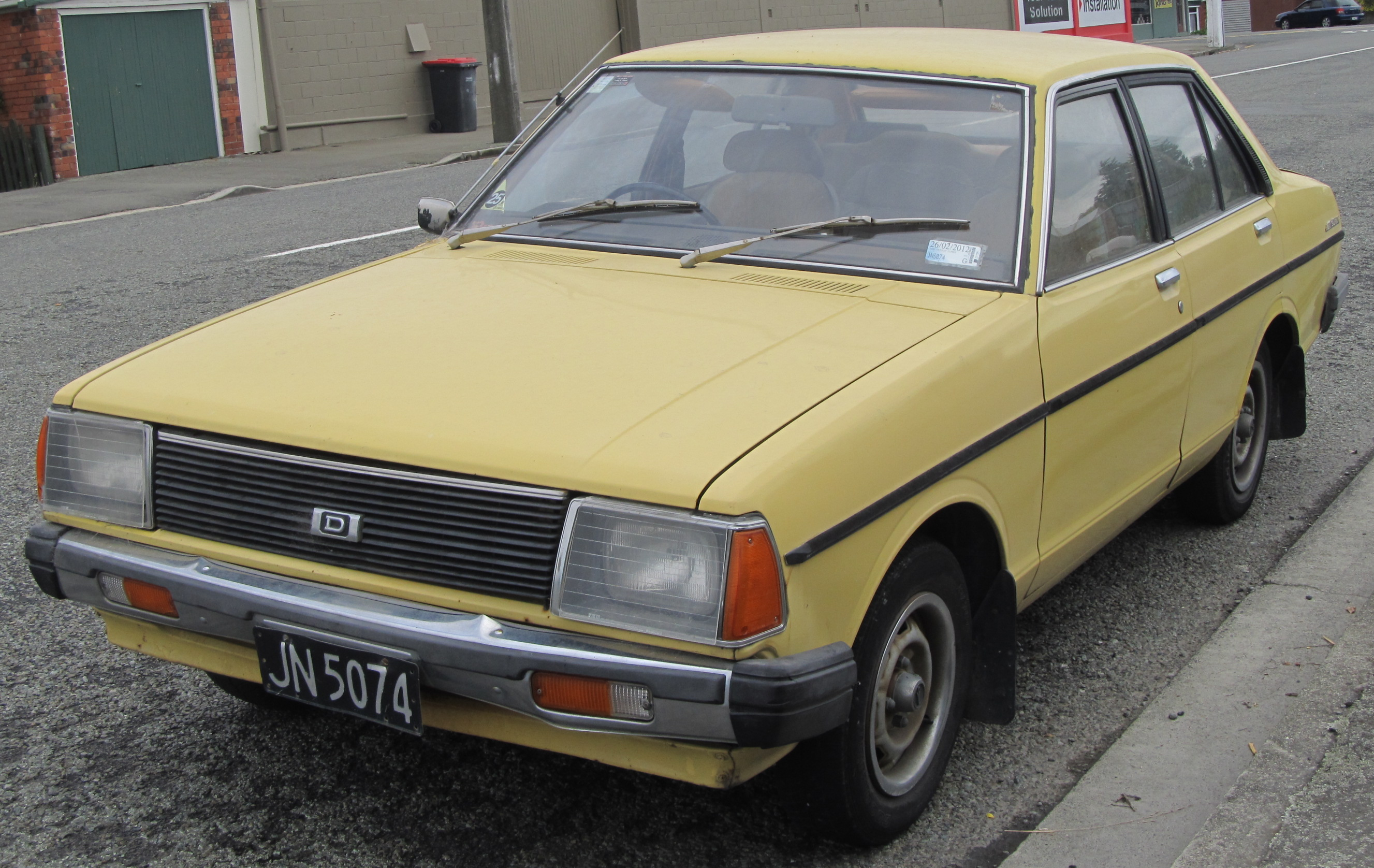 Datsun 140j For Sale. File:1974 Datsun Violet 140J Jpg ...