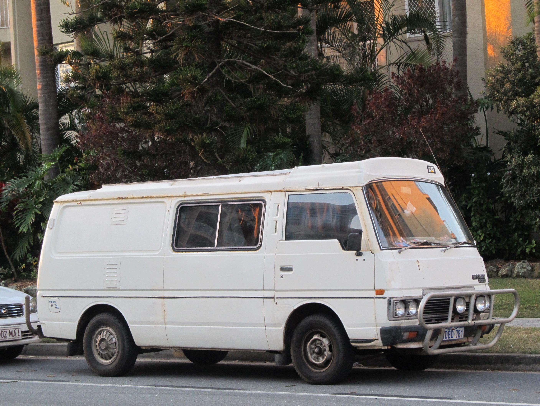 File1981 1983 Nissan Urvan E23 LWB 4 Door Van