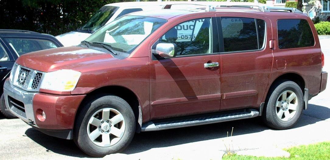 2004 Nissan Pathfinder Armada >> File 2004 Nissan Pathfinder Armada Jpg Wikimedia Commons
