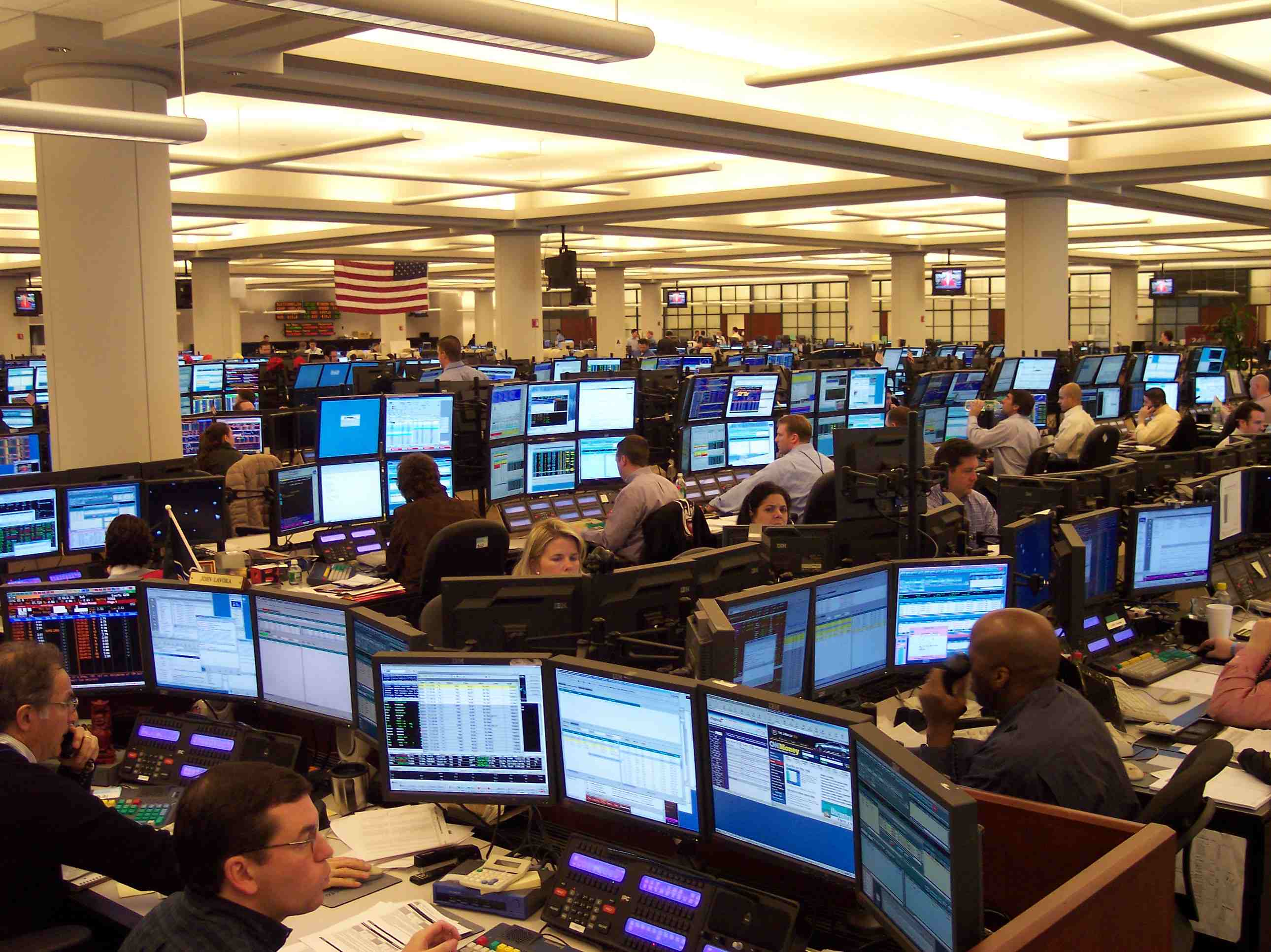 Forex trading floors