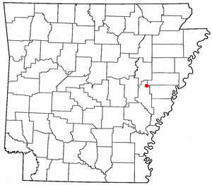 Loko di Brinkley, Arkansas